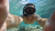 HD SLOW MOTION: Snorkeling In Shallow Water