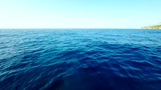 AERIAL Snorkeling In The Adriatic Sea