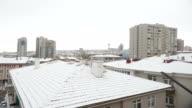 Snow At Ankara in winter
