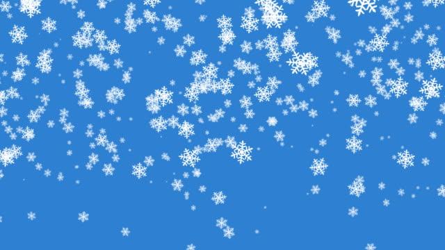 Snow #2 blue