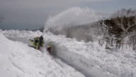 Snow clearance work is under way at a road crossing on the Shiretoko Peninsula in Japan's northernmost prefecture of Hokkaido The 238kilometer road...