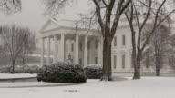 WS Snow covers the ground of the White House during another winter snow that blankets the DC the area Washington DC February 25 2014