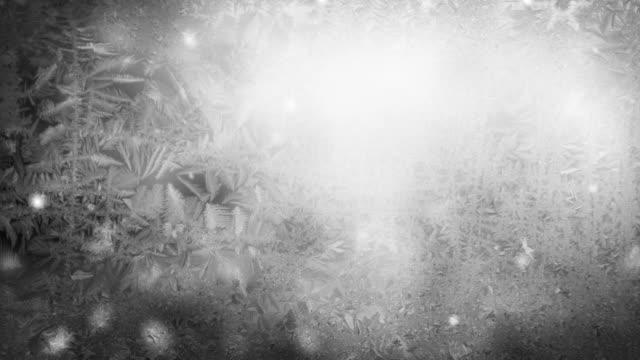 Snow Flakes Background Loop - Icy Grey (Full HD)