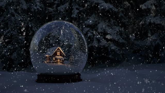 Snow Globe - 4K | Loopable