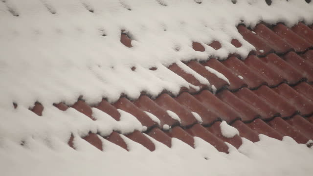 Snow over Roof Tile