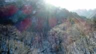 Snow scene of Mt.Seoraksan (Biosphere preservation district by UNESCO) in Autumn