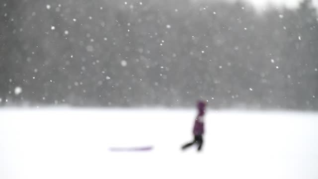 snow silhouette 2