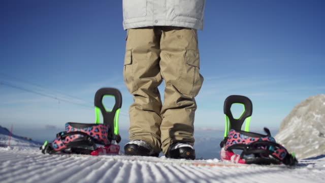 Snowboarder Snowboard Super rallentatore gocce