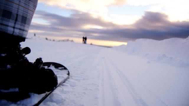 Snowboard-POV