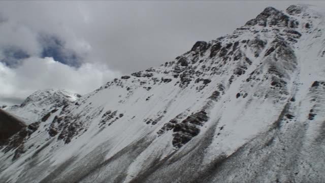 WS TD PAN Snowcapped mountains / Rural, Tibet