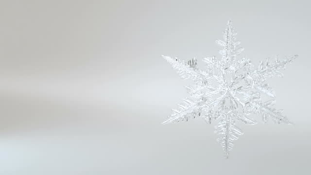 Snowflake Forming Alpha