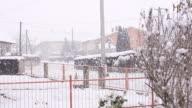 HD SUPER SLOW-MO: Snowing In The Neighborhood