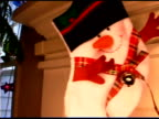 Snowman on stocking
