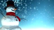 Schneemann-Weihnachten
