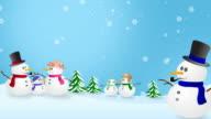 Snowmen In Winter Wonderland