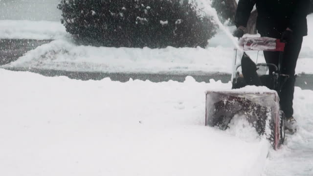 Snowplow, snow blower, snowblower