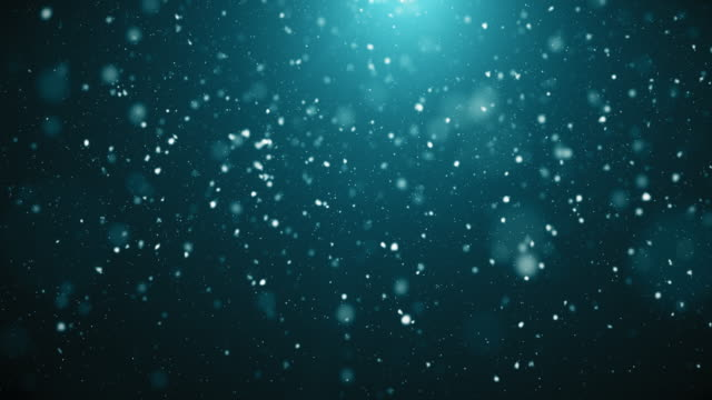 4K Snowy Background | Loopable