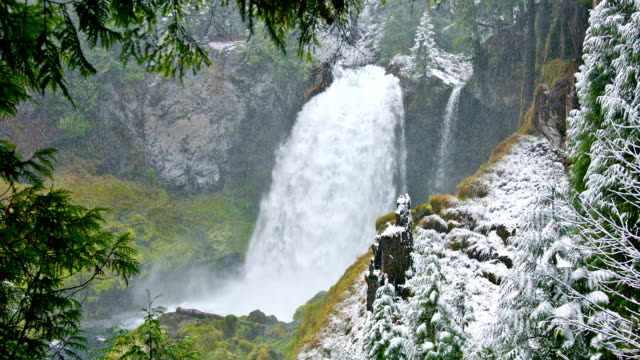 Snowy Creek Waterfalls