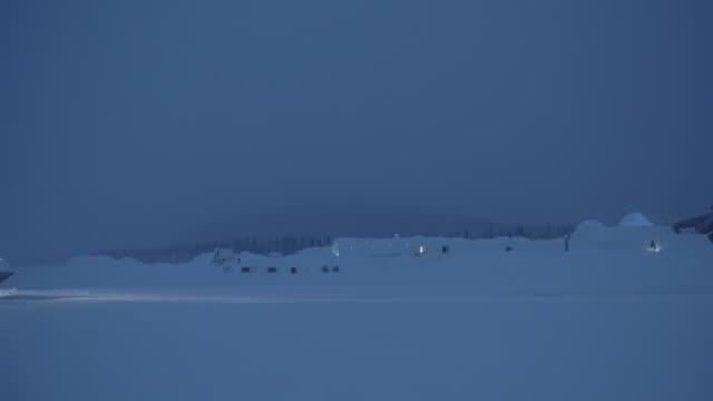 Snowy landscapes / Jukkasjarvi, Sweden