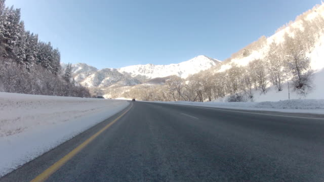 Snowy Mountain Pass