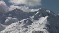 HD: Snowy mountain peaks