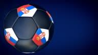 Fußball Ball – Serbien HD