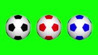 Fußball ball drehen