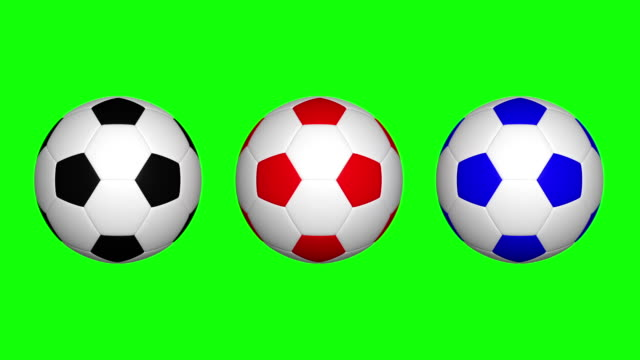 Soccer ball spinning
