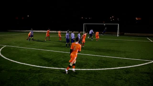 HD: Soccer Goal Freeckick (Football)