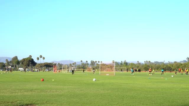 4K Soccer Practice