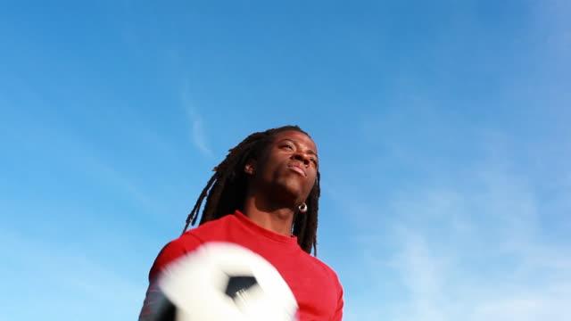 Fußball Rastafari Jungen