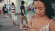 social communication on smartphone
