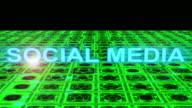 social media text animation
