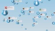 Social Media con opaco