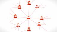 Connessione di rete sociale