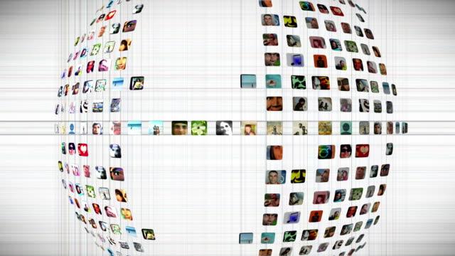 Soziales Netzwerk-Grafik