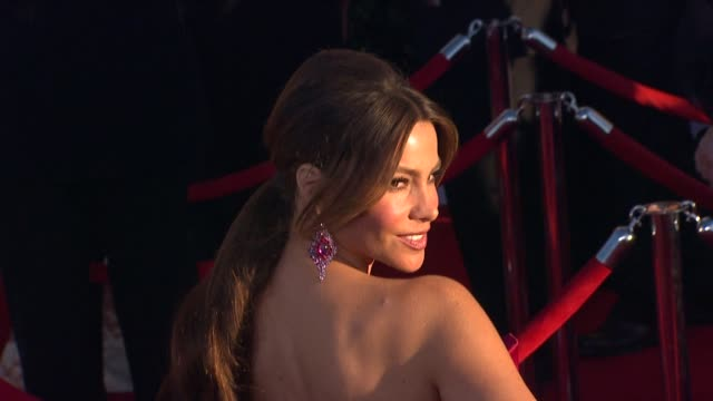 Sofia Vergara at 18th Annual Screen Actors Guild Awards Arrivals on 1/29/2012 in Los Angeles CA