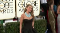 Sofia Vergara at 71st Annual Golden Globe Awards Arrivals at The Beverly Hilton Hotel on in Beverly Hills California