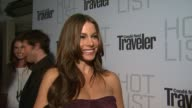 Sofia Vergara on the event at the Conde Nast Traveler Hot List Party at West Hollywood CA