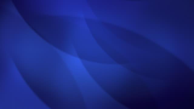 Weiche blaue Kurven, Loop HD-Hintergrund