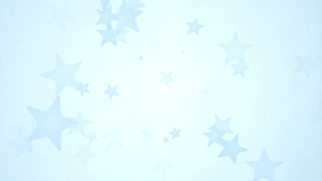 Soft Simple Stars Background Loops X3 - Blue (Full HD)