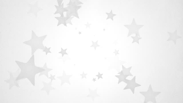 Soft Simple Stars Background Loops X3 - Grey (Full HD)