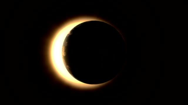 Solar Eclipse - Horizontal