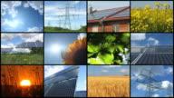 Montaggio di energia solare