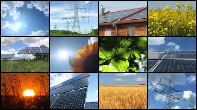 Solar-Energie-Montage