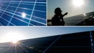 Solar Panel Collage
