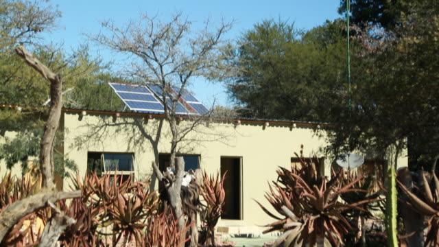 ES TILT DOWN solar panels on a metal rooftop/ Limpopo/ South Africa