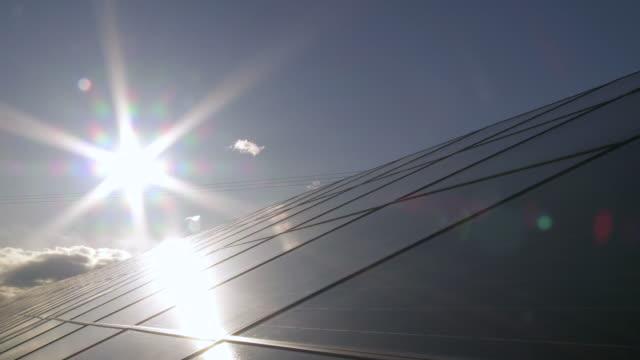 T/L Solar Park am Abend-Sonntag
