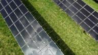 Impianto di energia solare del cavalcavia di antenna