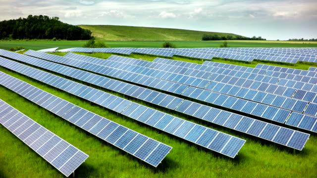 AERIAL: Solar Power Plant